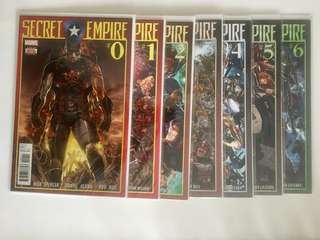 Secret Empire 0-10 + Secret Empire Omega #1