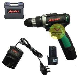 Asaki 12V Cordless Drill
