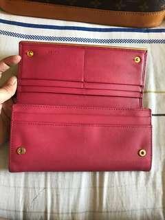 Prada wallet pink