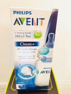 Avent Bottle - Classic 260ml for 1mth+