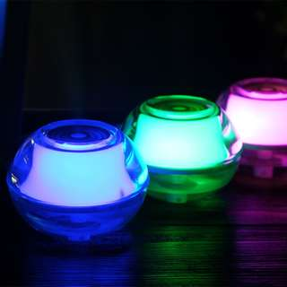 Crystal Night Light Air Humidifier (Powered by USB) - 水晶晶螢夜光加濕機 - A0748