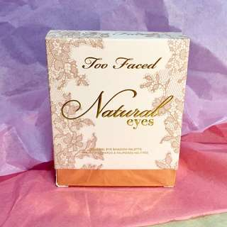 Too Faced Neutral Eye Shadow Palette - Natural Eyes