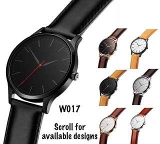 Unisex Minimalist Matte Watch (W017)