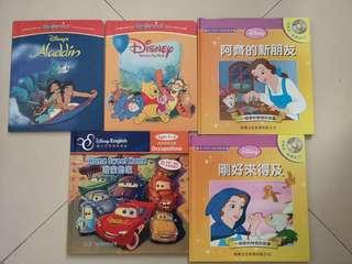 益智兒童中英文圖書 連CD 保証無劃花丶無爛, 只求環保不想浪費 給小朋友多接觸英語