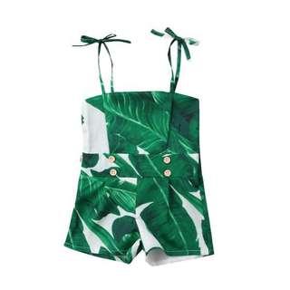 Green Leaf 🍃Jumpsuit