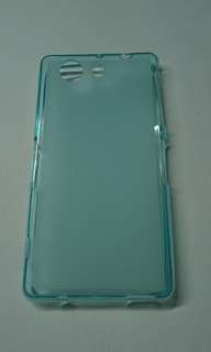 Xperia Z3 compact Jelly Case Colors Blue