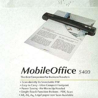 Portable Mobile Office S400 Scanner