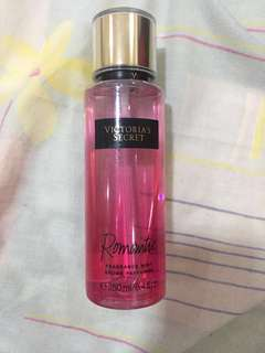 VICTORIA SECRET FRAGRANCE MIST ROMANTIC
