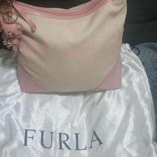 authentic Furla hobo bag