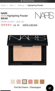 Nars highlighter