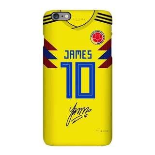 2018世界盃 哥倫比亞球衣手機殻