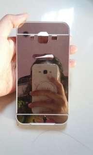 Preloved mirror case handphone J5 2015