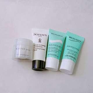 [清貨] Sofina jenne jelly moisturizer, Sothys Energizing Booster Serum, Biotherm aquasource hydration, Biotherm aquasource 24h deep hydration gel