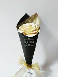 Mini rose paper flower