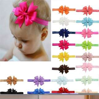 20pcs Hair Bands elastic for newborn and Toddler