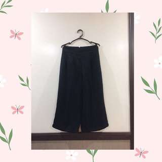 Black Squarepants (culottes)