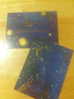 Decorative foiled cards (Night sky)