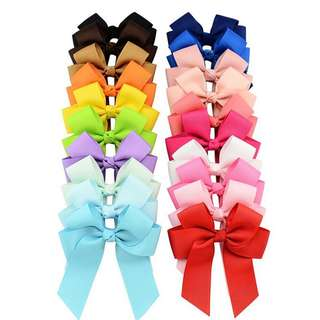 20pcs. Ribbon Hair Clip