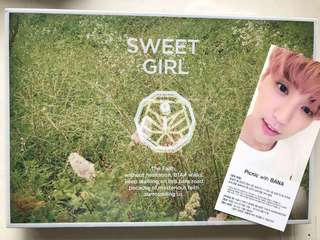 B1A4 6th Mini Album Sweet Girl