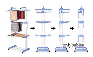 Free delivery foldable laundry rack Clothing Rack