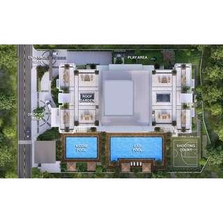 pre selling 1 bedroom condo in Cubao QC for sale by DMCI The Orabella near Gateway Mall Farmers MRT/LRT2 Cubao