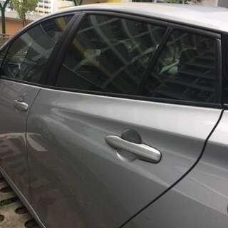 Toyota Prius Magnetic Sunshade/shield