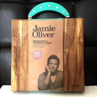 Jamie Oliver Mezzaluna & Chopping Board切板