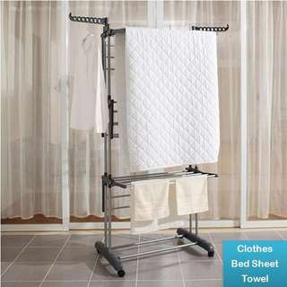 Free delivery foldable laundry rack