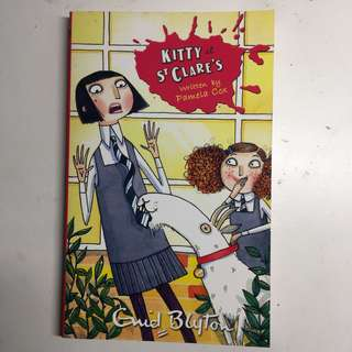 #6 KITTY AT ST CLARE'S by ENID BLYTON
