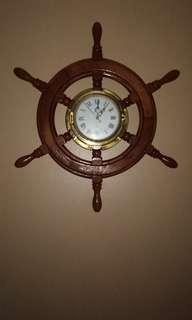 Ship steering clock