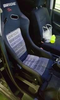 Bride Low Max Full Bucket Seat