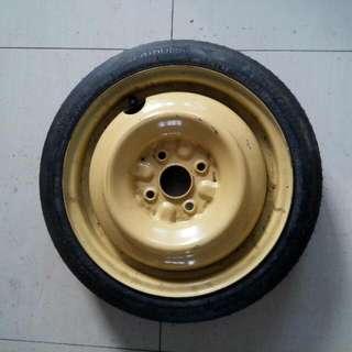 Spare Tyre Myvi Emergency