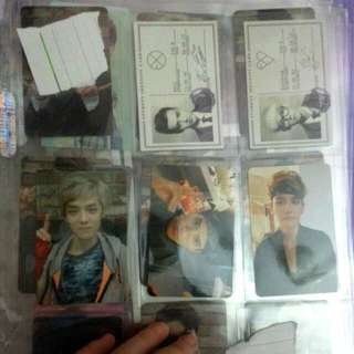 EXO GROWL Ver.B / XOXO Photocards