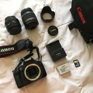 RUSH SALE! Canon EOS Japan Model Kiss X4/Rebel T2i/550D Complete Package