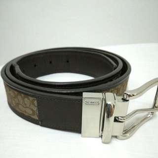 Coach men's belt