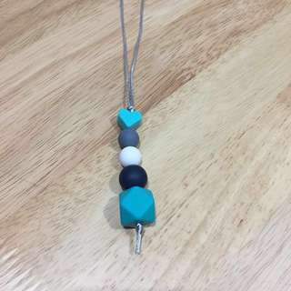Silicone teething necklace #letgo4raya