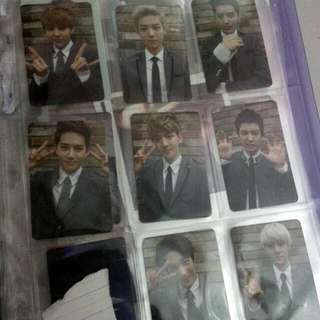 EXO GROWL Ver.A (1st press) Photocard