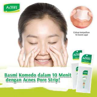Acnes Pore Pack isi 3 Pcs dlm 1 Pack