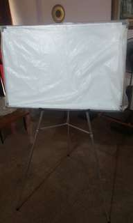 Priced to clear!! Whiteboard with tripod