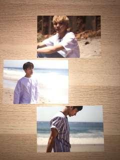 SEVENTEEN al1 postcards