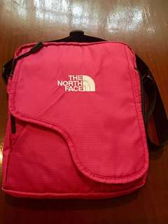 The North Face sling bag - (fuscia pink)