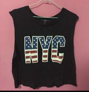 FOREVER 21 NYC Tank Top