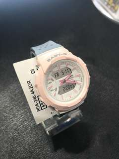100% Authentic Brand New BabyG Casio Watch Pink Grey BGA240 with FREE DELIVERY