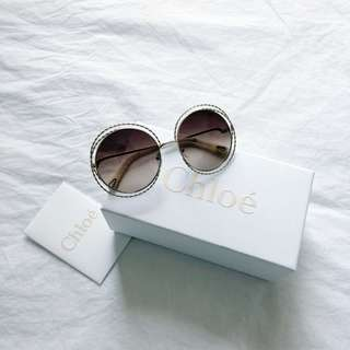 CHOLE Carlina Twist Sunglasses