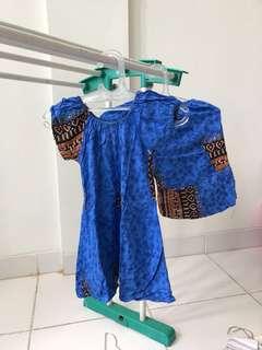 Baju setelan anak setahun batik tidur santai murmer obral murah