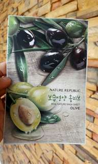Nature republic face mask Olive