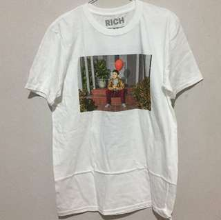 "Baju Rich Chigga Official Merch ""Tour Tee"""