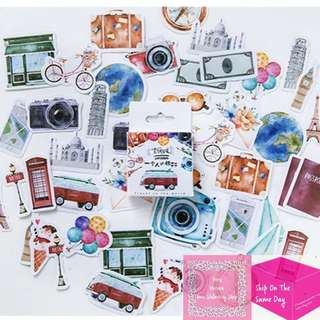 Set of 5pcs Alone Traveller Adventure Sticker Pack