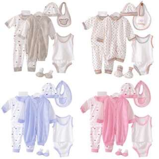 8 PCS SET NEWBORN CLOTH