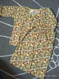 Baju Kurung cotton kanak kanak kids